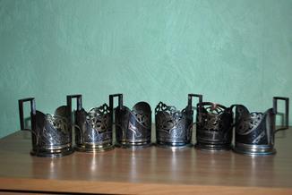 Подстаканники серебро