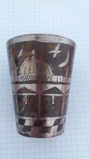 Старый восточный кидушный стакан.