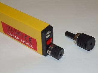 Лазерный пузырьковый уровень 400 мм.