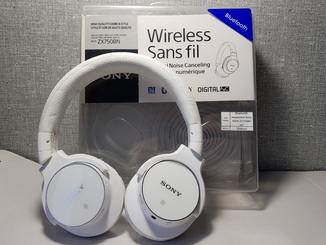 Bluetooth наушники Sony MDR-ZX750BN WT  Оригинал с Германии