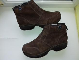 Ботинки MERRELL из Натуральной Кожи (Розмір-40.5\26.5)