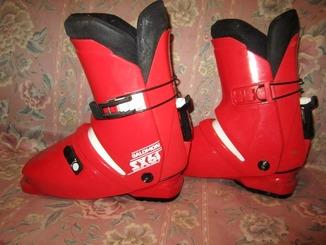 Лыжные ботинки разм 40-39