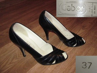 Женские кожаные туфли Cabor Vienna Austria 38 размер.