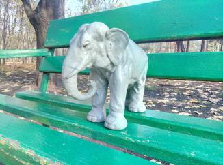 Скульптура , статуэтка Слон