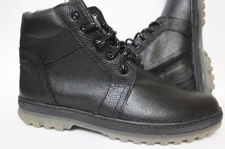 Зимние кожаные ботинки раз. от 40 -- по 45(стелька 29,5)