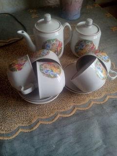 Чайный сервиз 1950-е 1960-е