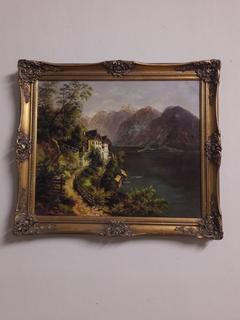 Картина європейського художника
