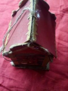 1940х.Елочная игрушка Сюрпризница.папье маше картон.