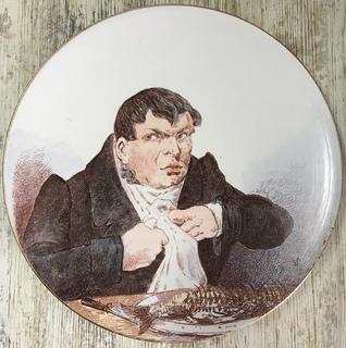 Коллекционная тарелка «Обжора», Кузнецов
