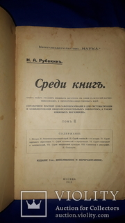 1913 Среди книг. Руководство для комплектования библиотек и книжных магазинов