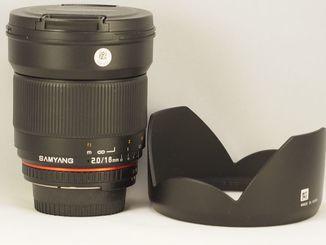 Samyang f2/16mm ED AS UMC CS