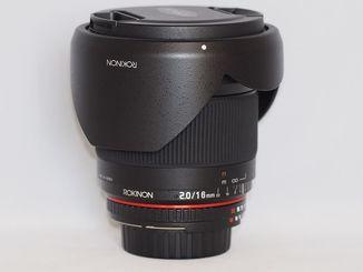 Об'єктив Rokinon f2/16mm ED AS UMC CS.