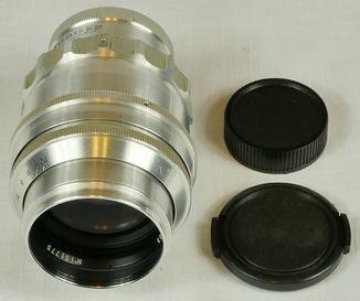Объектив Таир-11 серебристый М39
