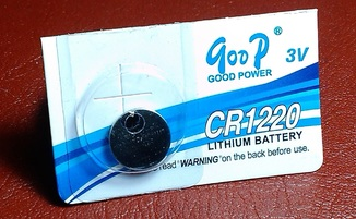 Батарейка Lithium Goop 1220 (1шт)