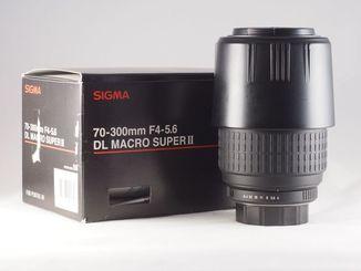 Sigma 70-300mm f4-5,6D DL Macro Super II(for Pentax).