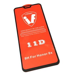 Защитное 5D стекло Huawei Honor 8X (5D, 9H, 0.3мм) черное