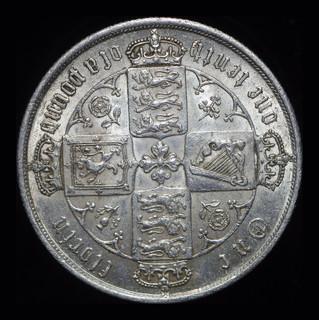 Великобритания готический флорин 1873