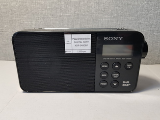 Радиоприемник DIGITAL SONY XDR-S40DBP Оригинал с Германии
