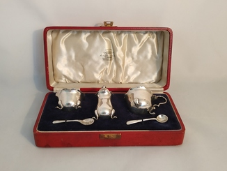 Столовый набор/Серебро/A BRO Ltd/Англия/20-30 гг ХХ века