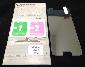 Защитное каленное стекло для Samsung A520 Galaxy A5 (2017г), A520f (2.5D, 9H, 0.3мм)