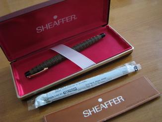 """Ручка с золотым пером."""" SHEAFFER"""" США (632 fine)"""