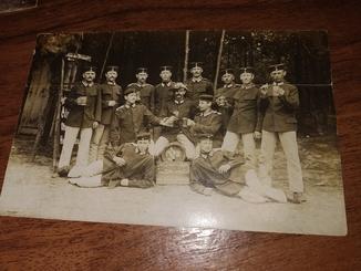 1я мировая  1915 Пиво Реклама Фотооткрытка