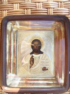 Икона Спас Вседержитель 1889год  (84)