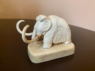 Статуэтка мамонт, слоновая кость, СССР