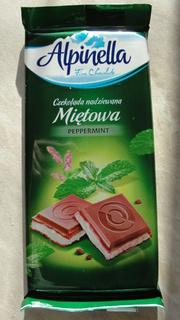 Шоколад Alpinella Мятный