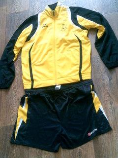 Erima - спорт куртка мастерка + шорты