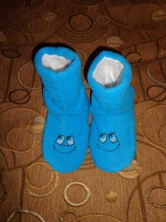 Детские тапочки-сапожки, размер 30