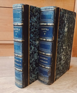 Storia D'Italia. 1835 год. 2 тома (комплект)