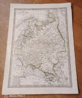 1835 Российская Империя в Европе. Монин.Верже