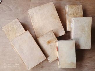 7 книг ХVIII века.