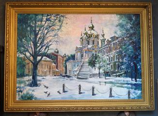 """""""Андріївська церква """" худ. Дубровський В.О"""