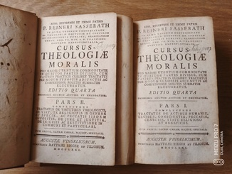 1771 Моральная Теология. 2 тома(комплект)