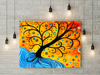 Сказочное дерево (масло/холст) 50х60 см