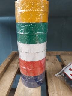 Изолента цветная INTERTOOL 10 м ( 10 шт в лоте )