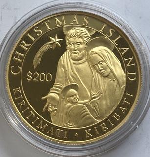 200 $ 2005 год Кирибати золото 31,1 грамм 999,9'