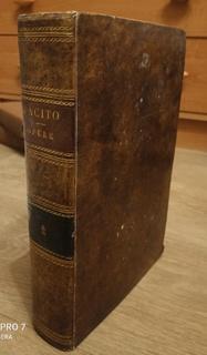 Le Opera. C. Cornelio Tacito. 1843. Объемная
