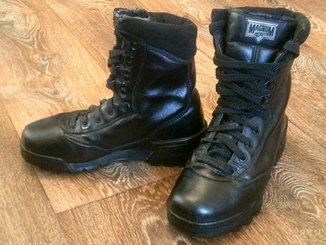 Magnum Hi-Tec ботинки кожаные разм.39