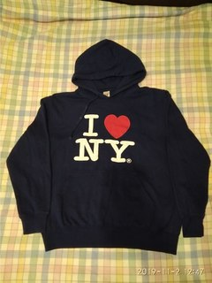 Толстовка р.XL  I love NY (India)