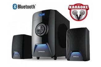 Колонки 2.1 REAL-EL M-570 black Bluetooth, караоке