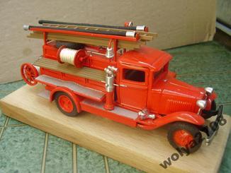 ГАЗ ПМГ пожежний пожарный ручна робота 1:43