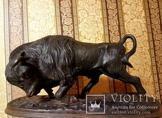Скульптура быка. Касли 1954г.