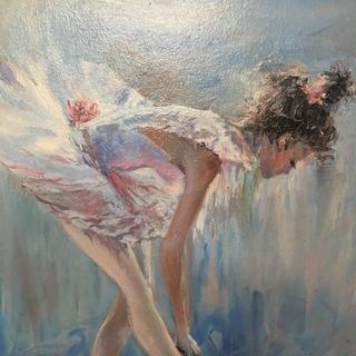Картина Балерина масло