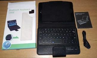 Блютус-клавиатура+чехол к планшету