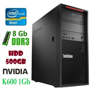 P300 Рабочая станция Lenovo ThinkStation E3-1220v3/DDR 8Gb/HDD 500Gb/ Nvidia  K600 1Gb