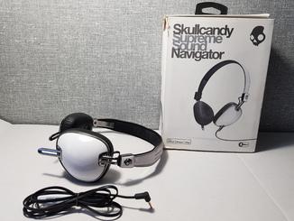 Наушники Skullcandy Navigator White  Оригинал с Германии