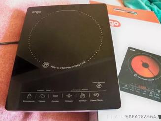 Электрическая плита ERGO HP -1509 (BI-B-22)